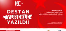 Pasinler TSO Aydın TAŞBAŞI'nın 15 Temmuz Mesajı