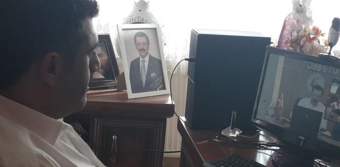 Yönetim Kurulu Başkanımız  Aydın  TAŞBAŞI Erzurum il ve İlçe Odaları İstişare Toplantısına Katıldı.
