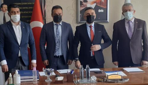 Pasinler Ticaret ve Sanayi Odasında  Arıcılık Kursu Protokolu imzalandı